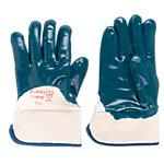 Gants de protection Nitrile Taille Einheitsgrösse Bleu 2 Unités