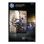 Papier photo jet d'encre HP Advanced Blanc Brillant 250 g