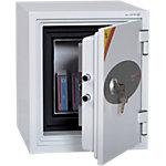 Coffre fort ignifuge Phoenix Datacare 2001 Verrouillage à clé Gris clair 35 x 43.2 x 41.2 cm