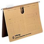 Dossiers suspendus Viking A4 marron manilla 25 unités