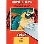 Films transparents pour imprimantes papier normales Folex X 10.0 A4 210 x 297 mm 100 Unités