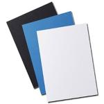 Couverture grainée GBC Bleu 25 Unités