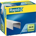 Boîte de 5000 agrafes - Rapid - 24/6