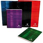 Cahier   Clairefontaine   A4   Petits carreaux   192 pages broché   Coloris assortis