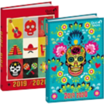 Agenda journalier Quo Vadis Mexico 12 x 1,7 x 17 cm Assortiment