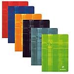 Cahier   Clairefontaine   A4   21 x 29,7 cm   Petits carreaux   96 pages piqué   Coloris assortis
