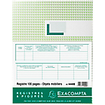 Registre antiquaire Exacompta 100 Pages 110 g