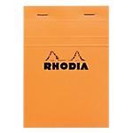 Bloc de bureau   Rhodia   105 x 148 mm   petits carreaux   blanc