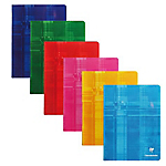 Petit Cahier   Clairefontaine   170 x 220 mm   Petits carreaux   96 pages piqué   Coloris assortis