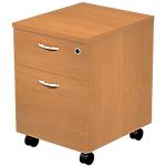 Caisson à tiroirs mobile Artexport Busyline 43 (L) x 52 (P) x 60 (H) cm Imitation aulne