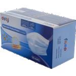 Masques chirurgicaux 3 plis Type 2 Tissu non tissé Bleu - 50 Unités