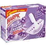 Bloc cuvette Harpic Lavande - 3 Unités