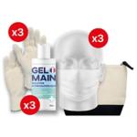 Kit de protection individuelle Premium 03 UNS1 Taille 9 Blanc