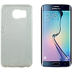 Coque silicone OMENEX 687160 Samsung Galaxy S6 Edge Blanc
