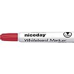 Marqueur pour tableau blanc Niceday WBM2.5 Rouge