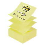 12 Blocs de 100 notes repositionnables   Post it   Z Notes   76 x 76 mm   jaune