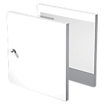 Lot de 2 portes Artexport Burocolor 1,6 (l) x 32,2 (H) cm Blanc