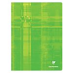 Grand Cahier   Clairefontaine   A4+   24 x 32 cm   Grands carreaux   96 pages piqué   Coloris assortis