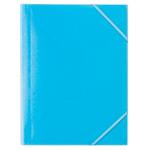 Chemise à élastique Office Depot A4 Bleu   5 Unités