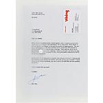 Pochettes de classement avec étiquettes Office Depot A4 Transparent   5