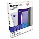 Couvertures pour reliure thermique standard GBC A4 0,15cm (l) Transparent   25