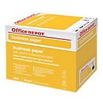Carton de papier de 2500 feuilles   Office Depot   Business   A4   80 g