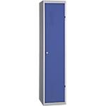 Vestiaire Industrie Salissante à monter 1 colonne   Elément suivant 40 (L) x 50 (l) x 180 (H) cm Bleu