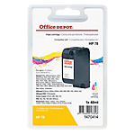 Cartouche jet d'encre Office Depot Compatible pour HP 78 3 Couleurs C6578A