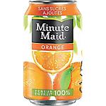 24 Boîtes   Minute Maid   orange 33 cl