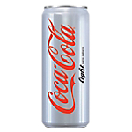 24 boîtes   Coca Cola   Light 33 cl