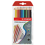 12 crayons de couleur   Stabilo   Aquacolor