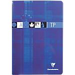 Cahier de travaux pratiques Clairefontaine A4 Bleu, rouge