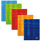 Grand Cahier   Clairefontaine   A4+   24 x 32 cm   Petits carreaux   96 pages piqué   Coloris assortis