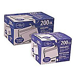 m² Blanc Sans Fenêtre Bande adhésive   200