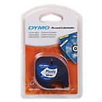 Ruban d'étiquettes DYMO Letratag 91201 1,2 (L) cm Noir sur blanc