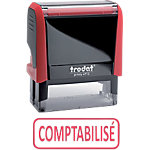 Tampon à formule commerciale Trodat Printy 4912 1 Ligne Rouge