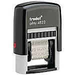 Tampon à formule commerciale Trodat Printy 4822 B 1 Ligne Rouge