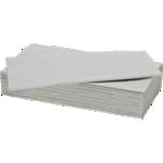 Essuie-mains NICEDAY PROFESSIONAL 2 épaisseurs Pliage en V Blanc - 15 Unités de 214 Feuilles