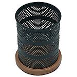 Pot A Crayons bois et métal   Spaceworx