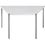 Table de réunion modulaire Sodematub Domino 120 x 60 x 74 cm Gris clair