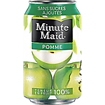 24 Boîtes   Minute Maid   Pomme 33 cl