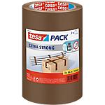 Rouleaux adhésifs PVC emballage silencieux PVC tesa 50mm (l) x 66m (L) 55 µm Havane   3