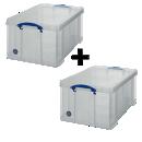 Boites de rangement 64 litres - Office depot