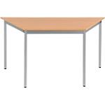 Table de réunion modulaire Sodematub Domino 140 x 70 x 74 cm Imitation Hêtre