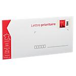 Enveloppes pré timbrées La Poste 16,2 (H) x 22,9 (l) cm