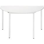 Table de réunion modulaire Sodematub Domino 120 x 60 x 74 cm Blanc