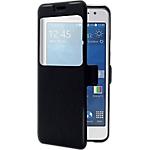 Étui de protection folio Samsung Galaxy A5 2016 Simili cuir OMENEX 685748 Noir