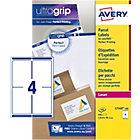 Étiquettes d'adresses AVERY Zweckform BlockOut Blanc 400 étiquettes   100