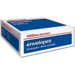 Enveloppes blanches à fenêtre DL bande adhésive - 500/paquet