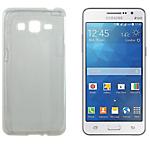 Coque silicone OMENEX Samsung Galaxy Grand Prime Blanc